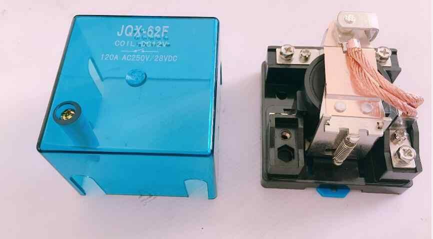 JQX-62F 1Z 120A Yüksek güç rölesi DC12V DC24V AC110V AC220V