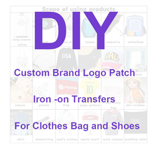 Iron-On-Patches Sticker Handbag Clothing Garment Heat-Transfer Accesso Custom Silicone