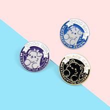 Praise your pet Club Enamel Lapel Pins Cute Cat Dog Brooches Badges Fashion Backpack Pin Gifts for Friends Wholesale Jewelry dachshund enamel lapel pins cute animals dog brooches badges backpack pin gifts for friends wholesale jewelry