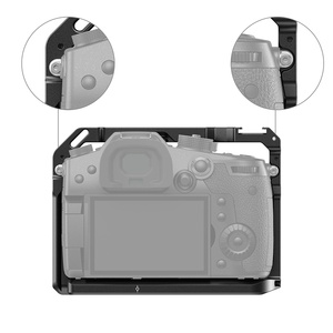 Image 5 - SmallRig DSLR gh5 Camera Cage For Panasonic gh5 / For Lumix gh5s With Cold Shoe Mount 1/4 3/8 Thread Holes and Nato Rail 2646