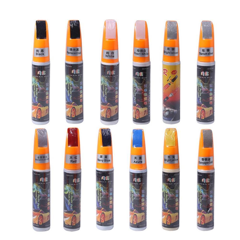 Main Color Mixing Practical Type Touch Up Pen Car Paint Scratch Repair Stick Exquisitely Designed Durable