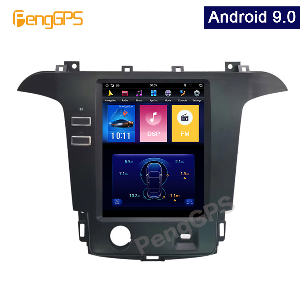 """10.4"""" Car Stereo Headunit for Ford S-Max Galaxy 2007-2015 Car Stereo System Audio Player In-dash Carplay GPS Navigation Android"""