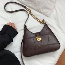 Женская сумка через плечо в стиле ретро новинка осень зима 2020