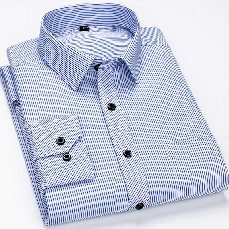 Davydaisy 2020 Nieuwe Collectie Mannen Shirt Lange Mouw Shirts Twill Plaid Mode Causale Jurk Man Shirt 17 Kleuren Merk Kleding DS342
