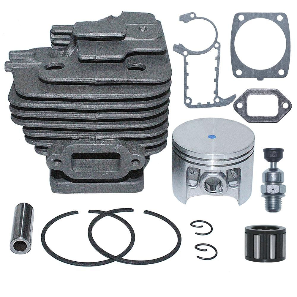 49mm Bore 1202 Decompression For Nikasil 020 1135 Big Replace Stihl Cylinder Gasket Kit Piston MS361 Chainsaw