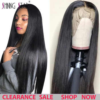 13*4 Lace Front Human Hair Wigs Straight Pre Plucked Hairline Lace Frontal Wigs Baby Hair Glueless Wigs Brazilian 100% Remy Hair - DISCOUNT ITEM  53% OFF All Category