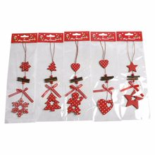 2018 Christmas Tree Decoration Pendant Hanging Ornament Christmas Scene Props Home New Year Party Decor Festival Supplies(China)