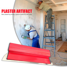 Skimming-Blades Trowel Drywall Finishing Stainless-Steel Painting Portable for Plaster