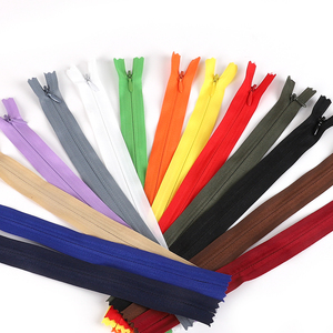 10pcs/bag 28/35/40/50/55/60cm Long Invisible Zippers DIY Nylon Coil Zipper For Tailor Sewing Clothes Handcraft Accessories Craft