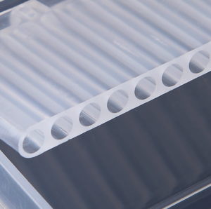 Image 5 - ברור פלסטיק נייל מקדחי אחסון תיבת תצוגת Stand 20 חריצים 14 חריצים ארגונית מקרה מיכל מקצועי מניקור כלים
