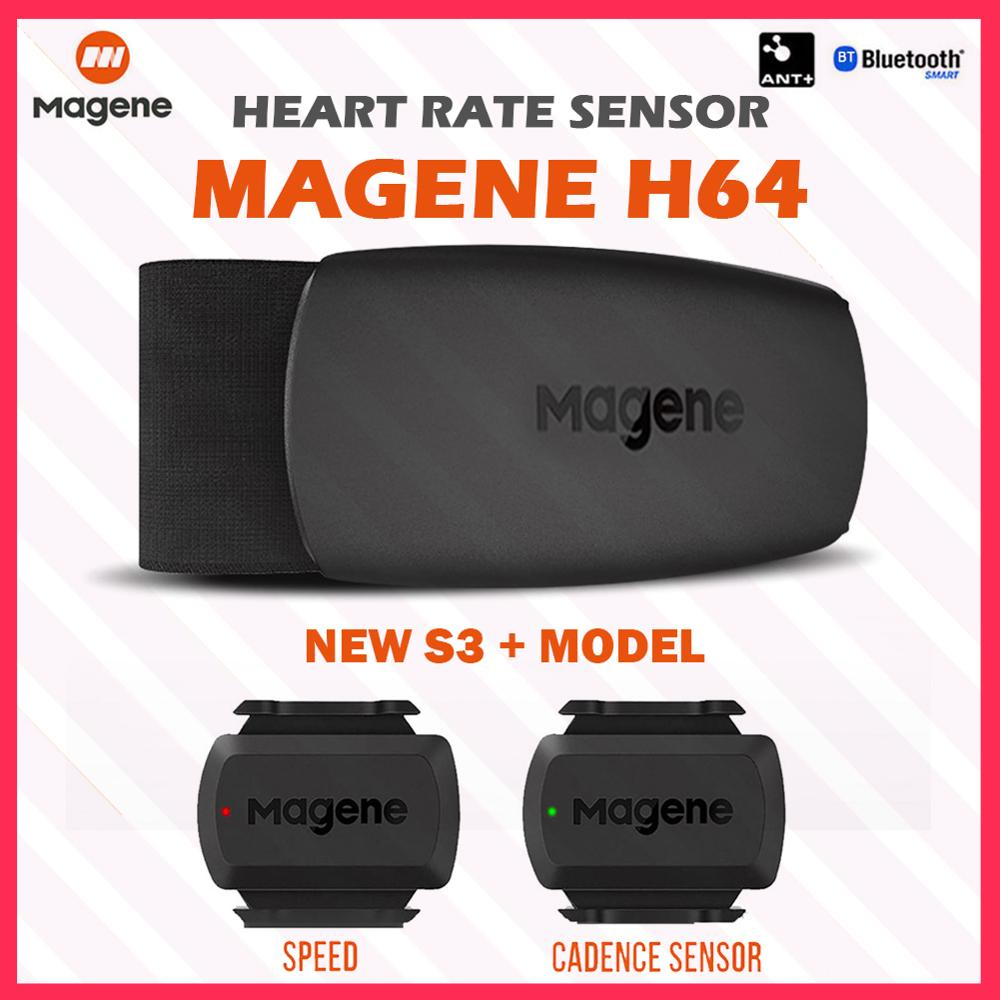 MAGENE H64 Sport Heart Rate Monitor Band Bluetooth ANT Pulse Sensor Meter Belt