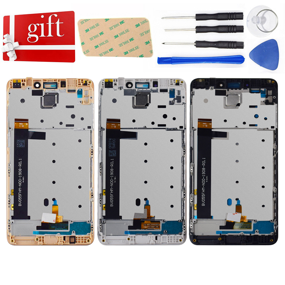 LCD For Xiaomi Redmi Note 4 LCD Screen Redmi Note 4 LCD Display Touch Screen Redmi Note 4 MTK Helio X20 Assembly With Frame