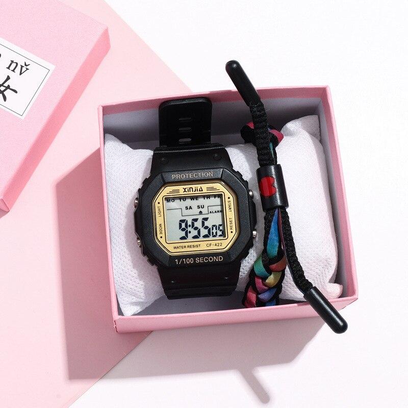 Children Outdoor Sports Watch Digital Wristwatches Military Alarm Shock Resistant Waterproof Watch G Style Watch Clock Hour C294