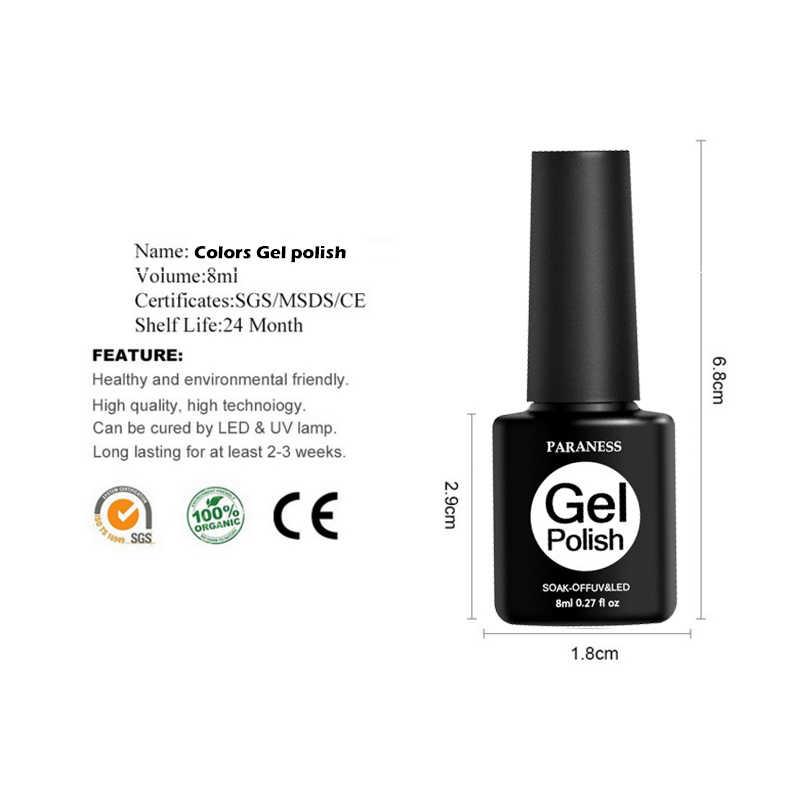 לאספקה טהור צבע UV ג 'ל פולני אצבע Esmalte ג' ל לק פרמננטה לספוג את צרפת ג 'ל לכה פולני עיצוב של ציפורניים