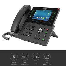 X7C Fanvil IP телефон Встроенный Bluetooth беспроводной телефон с ip-камерой HD видео звонок Бизнес Офис VoIP SIP стационарный телефон
