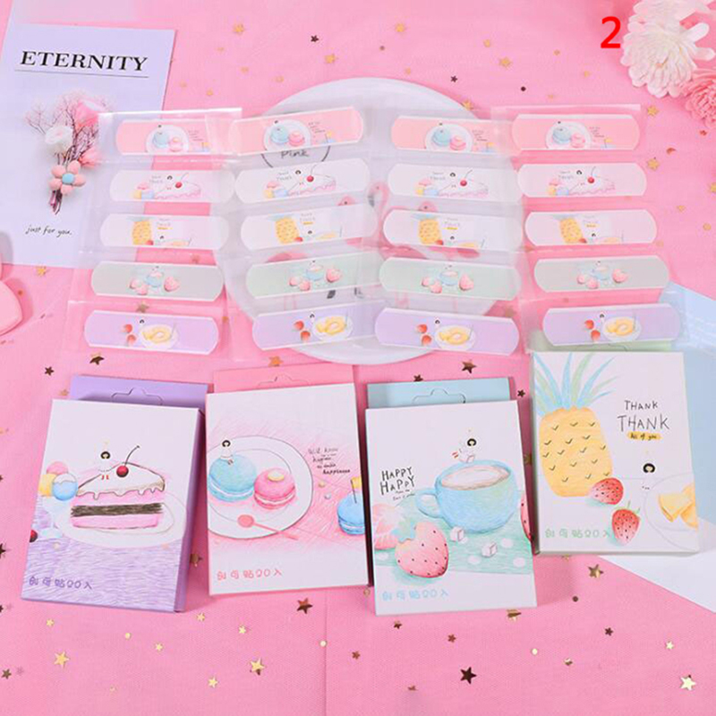 20Pcs/Box Cute Disposable Band Aid Wound Sticker First Aid Emergency Kit Adhesive Bandages For Kids Children Wholesale
