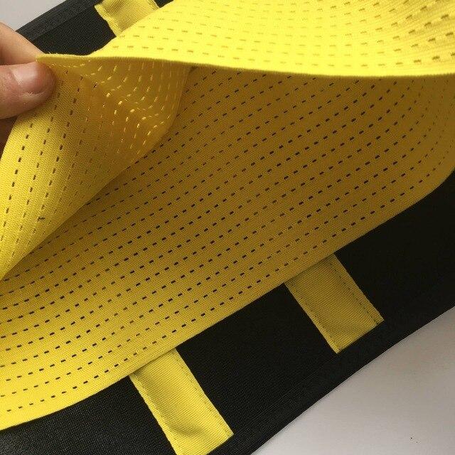 Waist Support Neoprene Waist Trimmer Exercise Belt Slimming Lumbar Protector Belts Sweat Loss Weight Belly Girdle For Men/Women 5