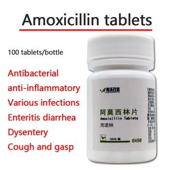 Amoxicillin 100 tablets pet cats and dogs respiratory tract antibacterial diarrhea cough 10mg недорого