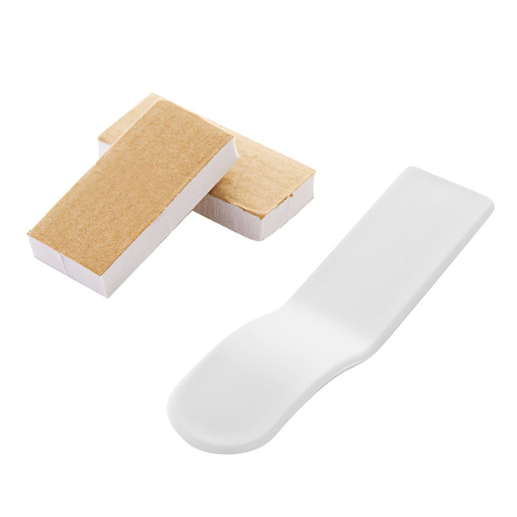 Toilet Seat Cover Lifter Toilet Cover Lifting Device Toilet Seat Cover Lifter Avoid Touching Self-adhesive HygieneWhite