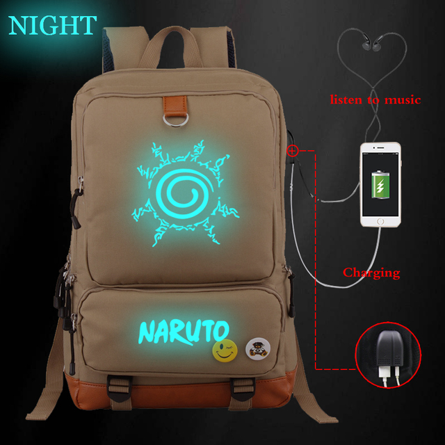 NARUTO THEMED BACKPACK (19 VARIAN)