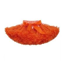 Пышная юбка-пачка оранжевого и кофейного цвета для От 2 до 18 лет девочек; детская фатиновая юбка-пачка; вечерние юбки для танцев