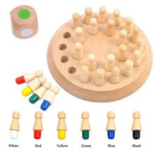 цена на 2019 New Toys For Childrenr Technology Gadgets Game Wooden Memory Chess Fun Block Board Educational Color Cognitive Ability