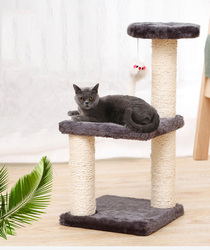 H40/20cm Cat Toy Climbing Kitten Climbing Frame Pet Supplies Pet Cat Tree House Cat Climbing Frame Pet Cat Toy Kitty Play House