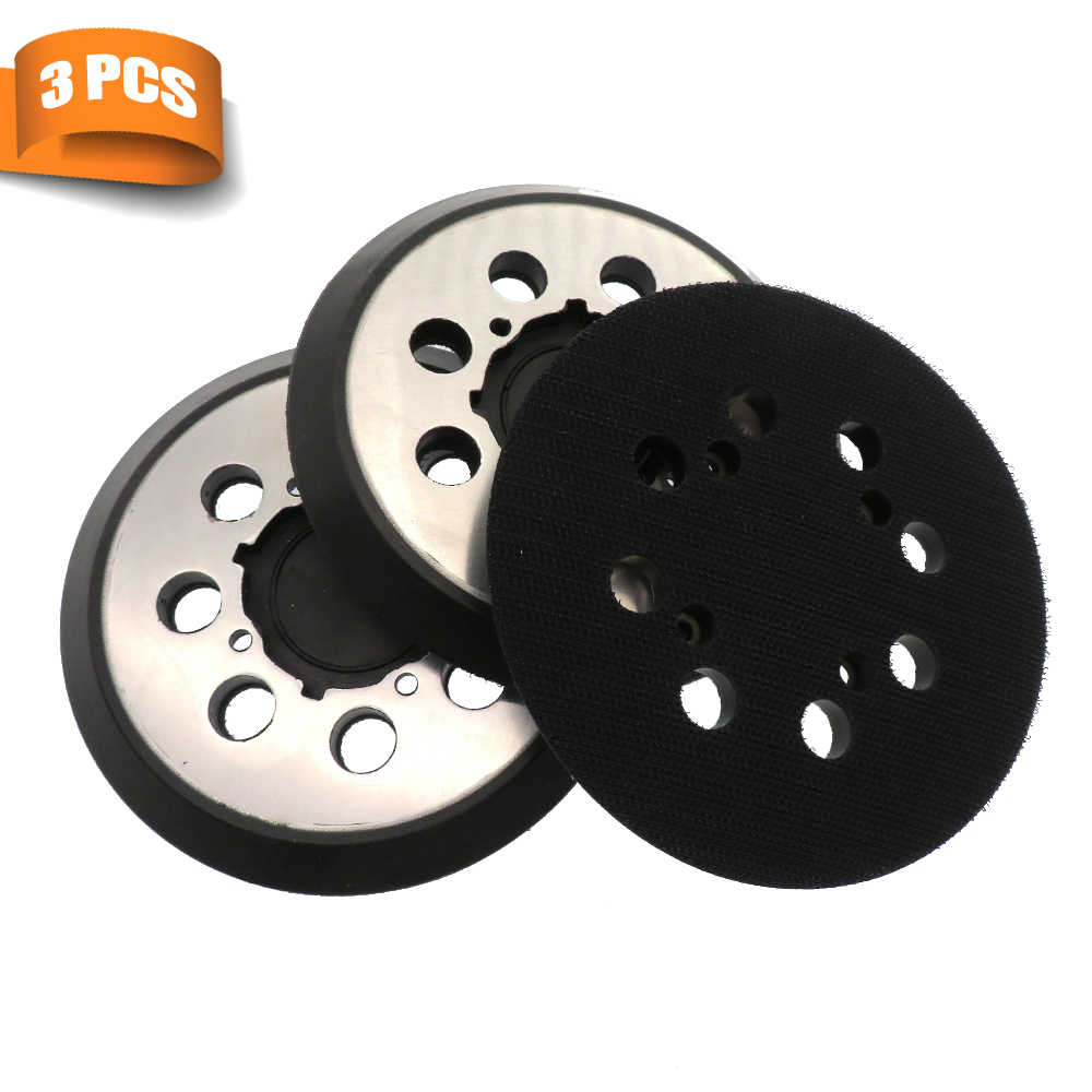 3pcs Backing Pad Hook And Loop Backing Pad Polishing Grinding Sanding Disc Set