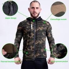 Мужская толстовка на молнии, толстовка в стиле хип-хоп, куртка для фитнеса и бега, толстовка для тренировки, Спортивная Толстовка