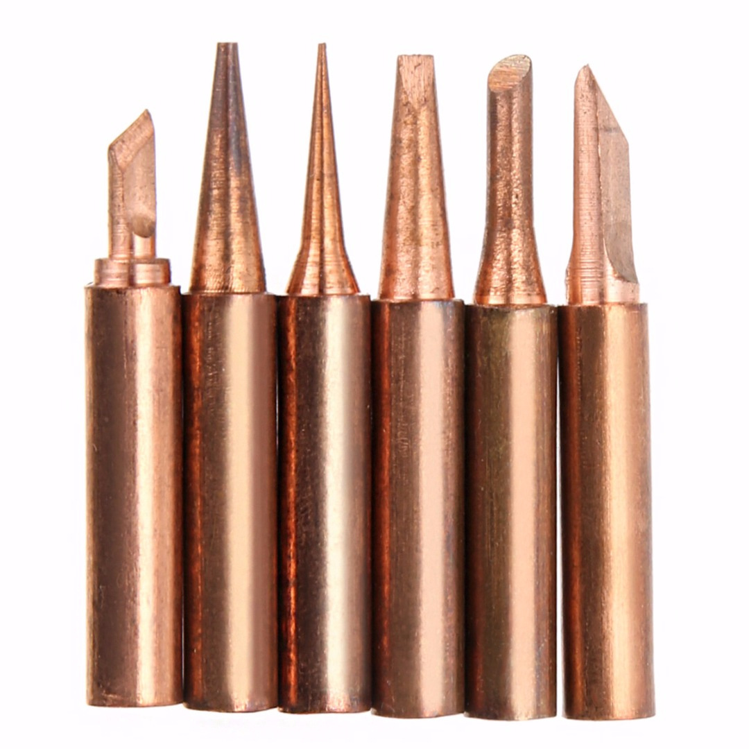 936 Iron Head Fine Copper 900M Iron Head Set Heat Is Bare Copper Electric Welding Nozzle Iron Tsui
