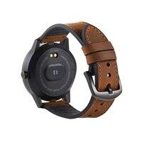 Echtes Leder Uhrenarmbänder 22mm für Samsung Galaxy Getriebe S3 Huami amazfit Huawei GT 2E Ehre GS Pro Uhr Strap echt Leder Band
