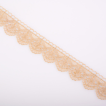 12.9 meter 3 cm Lace Trim Ribbon for Garment Home Textiles DIY Crafts Trimmings Sewing Lace Fabric Polyester Light Brown 12 9 meter 3 0 cm lace trim ribbon for garment home textiles diy crafts trimmings sewing lace fabric polyester 3 5 cm 3 moldes
