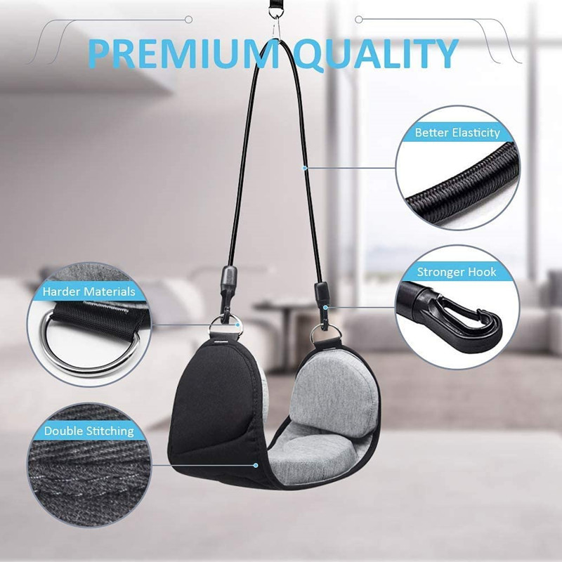 Portable Hammock for Neck Decompression Cervical Traction Device Head Hammock for Neck Shoulder Pain Relief and Physical Ther