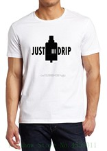 Vaper I Vape 420 Smoking Just Drip Coil Hipster T Shirt Funny Tee Shirt Hipster Summer(China)