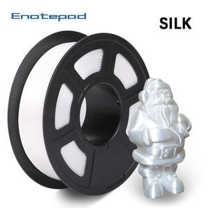 Enotepad PLA Silk Filament 1.75mm 1kg Silk Texture Printing Filament For 3D Printer Dimension Accuracy +/-0.02mm