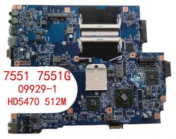 HOLYTIME placa base de computadora portátil para ACER 7551 7551G JE70-DN MB 09929-1 48.4HP01! 011 MBBKM01001 MB BKM01.001 HD5470 512M DDR3