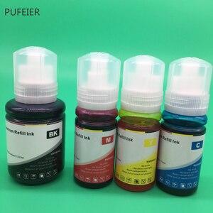Image 5 - 4 Bottles 103 104 105 512 T103 T104 T105 T512 EcoTank Refill Dye Based Ink Kits For Epson L3150 L3111 L3151 L3110 ET7750 ET7700