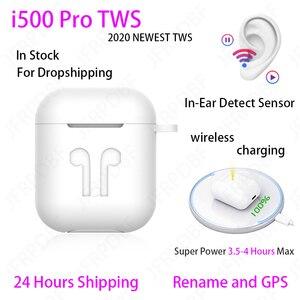 Original i500 Pro In-Ear 1:1 TWS Blutooth Earphone Mini Wireless Headset Headphones Elari PK Aire 2 3 Fone De Ouvido Bluetooth