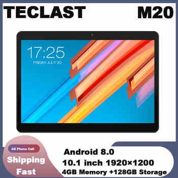 Teclast M20 4GB RAM 128GB ROM Tablet PC 10,1 pulgadas 1920*1200 MT6797 X23 Deca Core Android 8,0 Dual teléfono 4G tabletas Dual