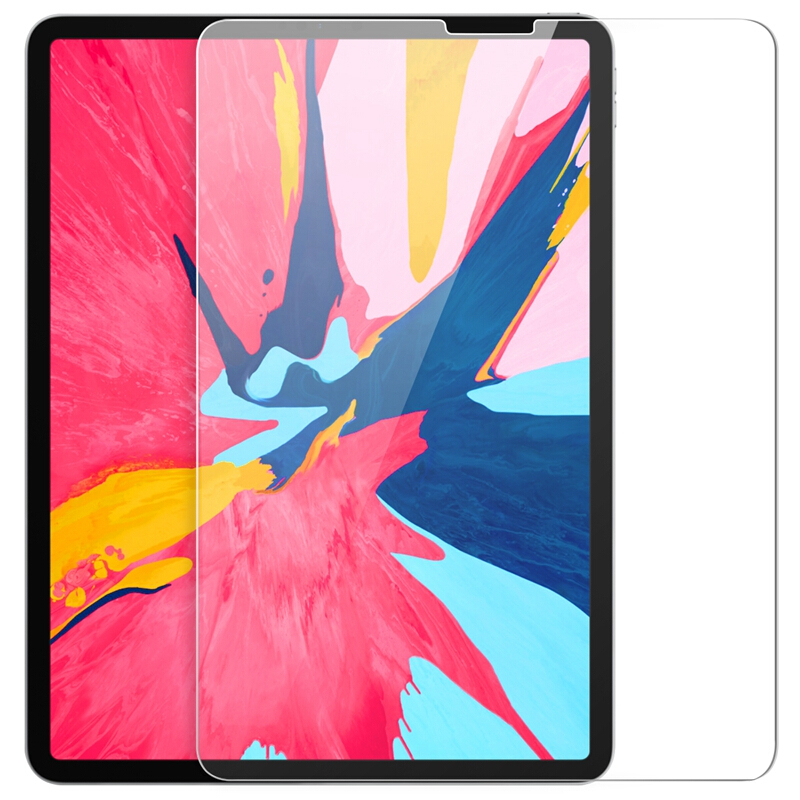 """2.5D Glass For Apple iPad Pro 2018 11"""" Full Coverage Tablet Screen Protector For Apple iPad Pro 2018 12.9"""" Premium Tempred Glass"""