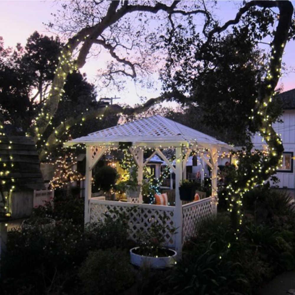 Сада наружная Рождественская елка Свадебная вечеринка домашнее декоративное ночное освещение 20 светодиодов 3 м Фея Водонепроницаемая гирлянда лампа в виде капли
