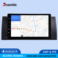 IPS 4GB 64G 2Din Android 9.0 Car NO DVD Player For BMW X5 E53 BMW E39 multimedia Radio GPS navigation head unit Audio stereo DSP