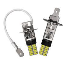 2Pcs H3 H1 Led Lampen Voor Mistlichten 24 Smd 4014 6500K Wit 12V Led Mistlampen running Rijden Lamp