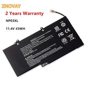 11.4V 43WH HP NP03XL Notebook Battery for Pavilion X360 13-a010dx 13-b116t Envy 15-u010dx 15-u111dx