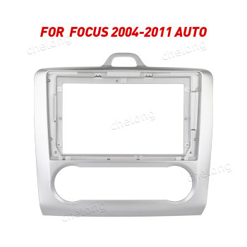 2Din Car Dashboard Frame Fit For Ford Focus 2004-2011 AUTO Car DVD GPS Dash Panel Kit Mounting Frame Trim Frame Fascias image