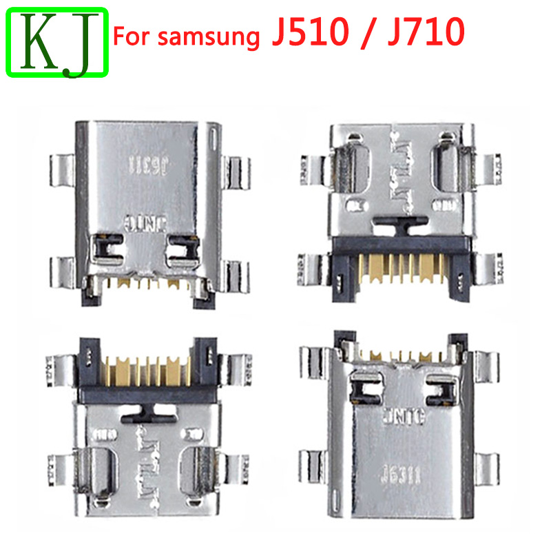 10PCS New For Samsung Galaxy J5 J7 2016 <font><b>J510</b></font> J710 <font><b>USB</b></font> Micro Charger Charging Connector Dock Port Jack Socket image
