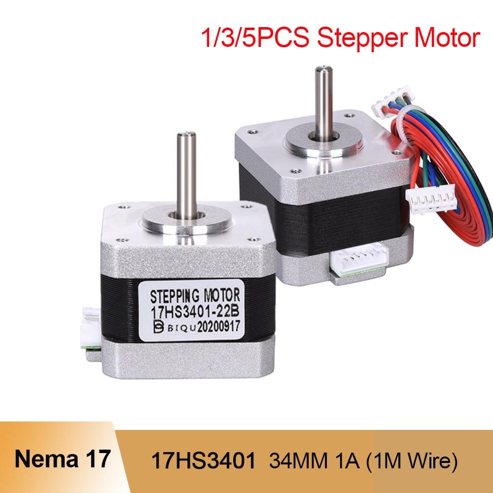 5PC Nema17 Stepper Motor 0.7A 22mm 42 Motor 1.8° 4-lead for  Extruder Kit