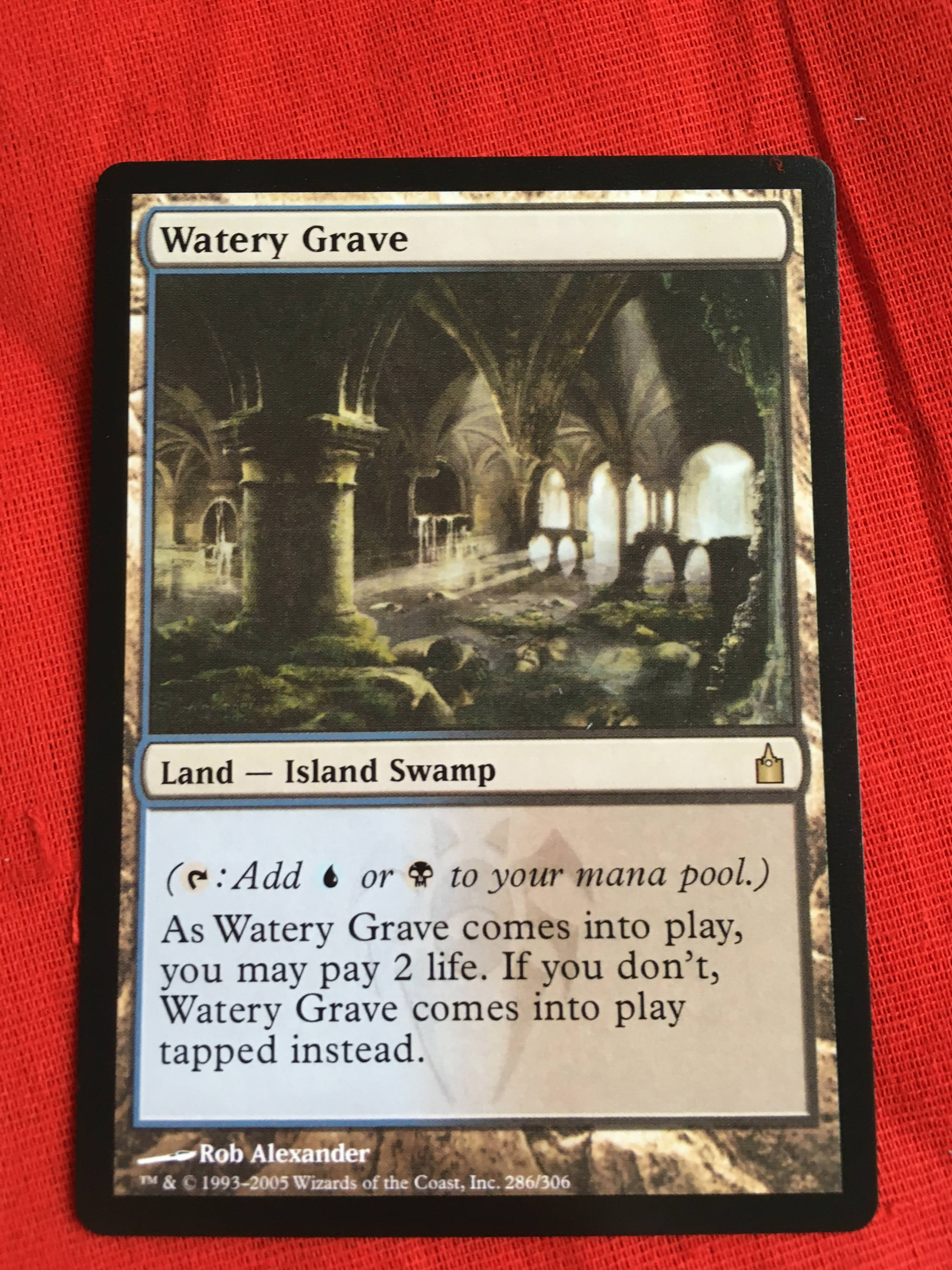 Watery GraveRavnica City Of Guilds Magician ProxyKing 8.0 VIP The Proxy Cards To Gathering Every Single Mg Card.