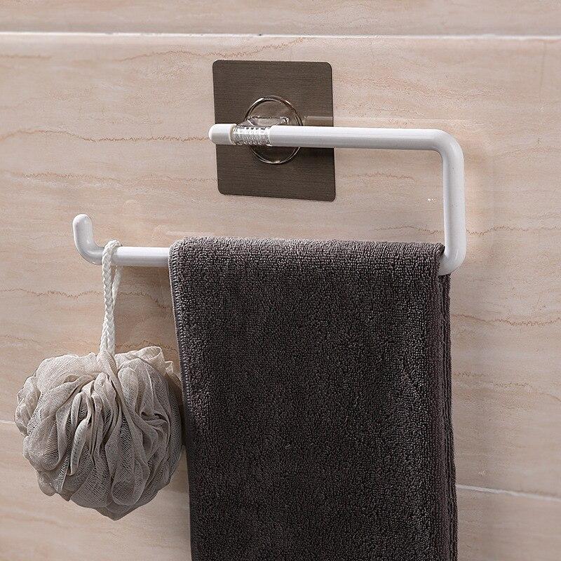 Shuangqing сильная волшебная палочка кажущаяся вешалка для полотенец для ванной туалетное Полотенце Держатель для полотенца стойка 5162