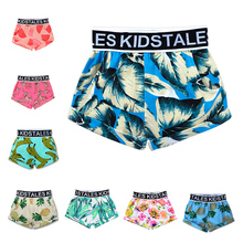 Summer Children's Clothing Girls Boys Shorts Toddler Print Cotton Baby Kids Clothes Shorts Bloomers Bottom Pants CT047